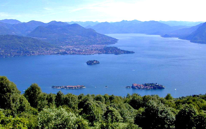 Tour mit Motorboot auf dem Lago Maggiore
