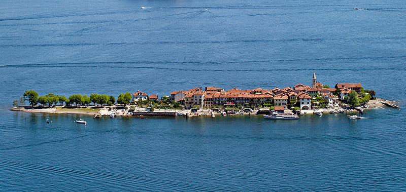 Isola pescatori - the smallest Borromean Island